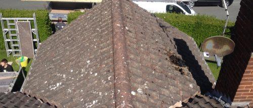 Residential Roof Works Wrexham Before